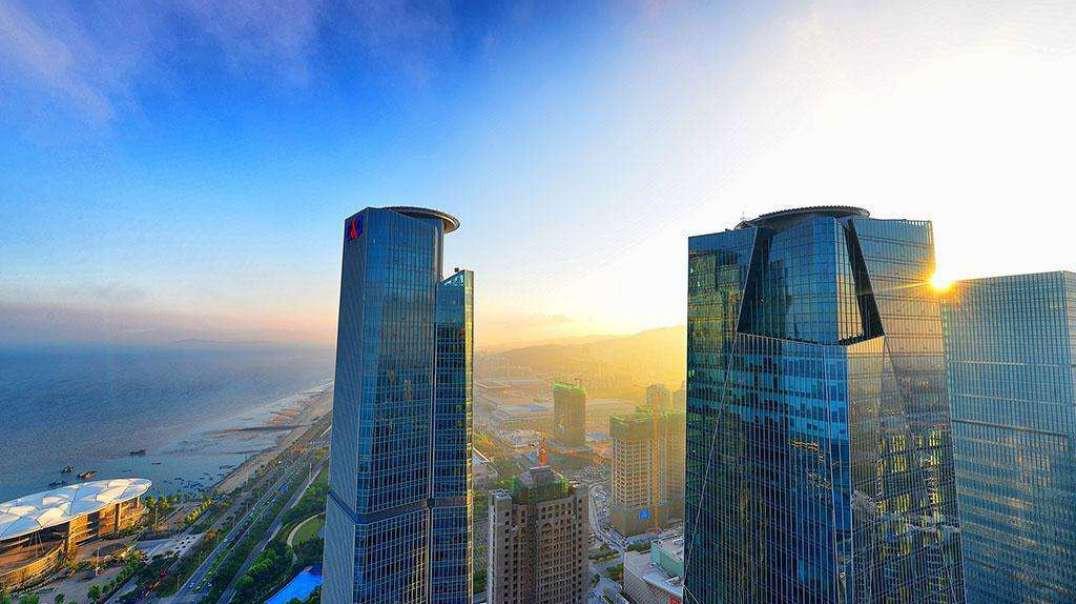 中国第一高楼 300亿高达636米比东方之门还要高2倍